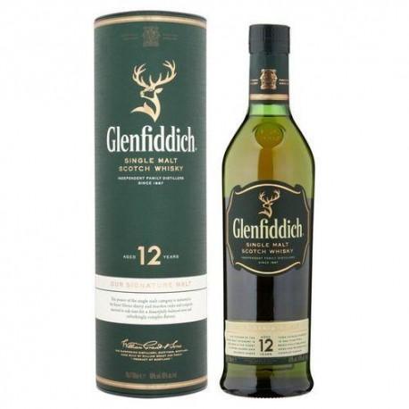 GLENFIDDICH 12 AÑOS 0.70CL