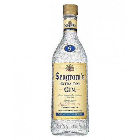 SEAGRAMS GIN 70CL